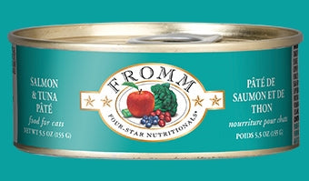 Fromm Salmon & Tuna Pate' for Cats - 5.5 oz.