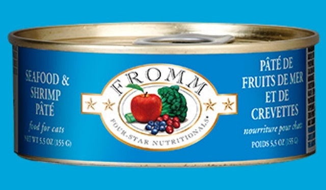 Fromm Seafood & Shrimp Pate' for Cats - 5.5 oz.
