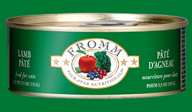 Fromm Lamb Pate' for Cats - 5.5 oz.