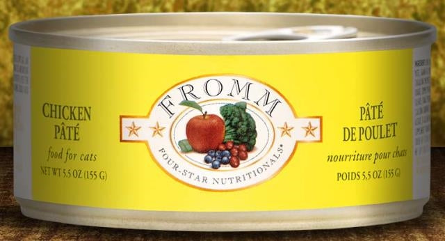 Fromm Chicken Pate' for Cats - 5.5 oz.