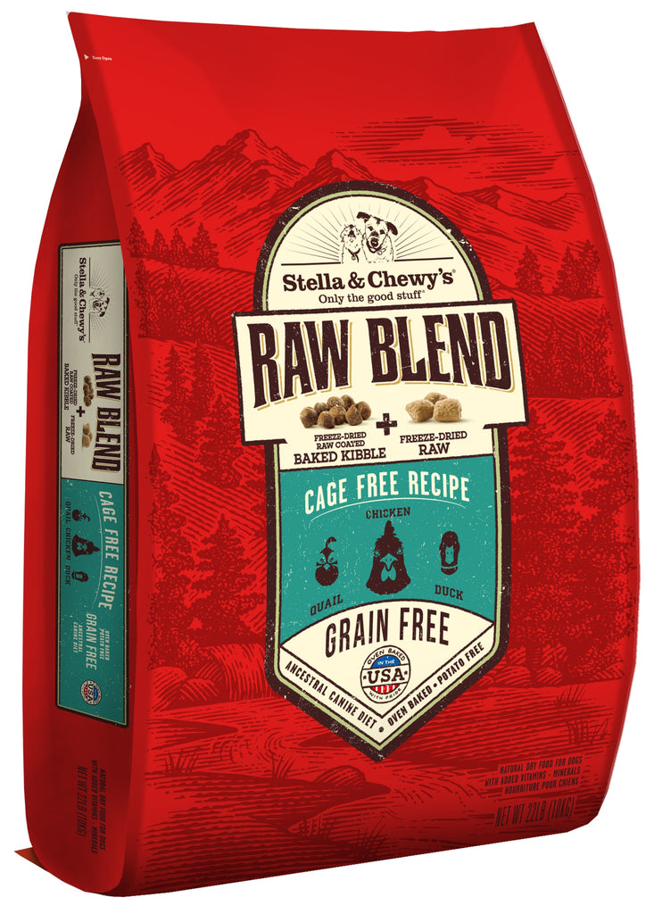 Stella & Chewy's Grain Free Raw Blend Cage Free Recipe Dog Food