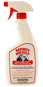 Nature's Miracle Just for Cats Stain & Odor Remover - 24 fl oz Trigger Sprayer