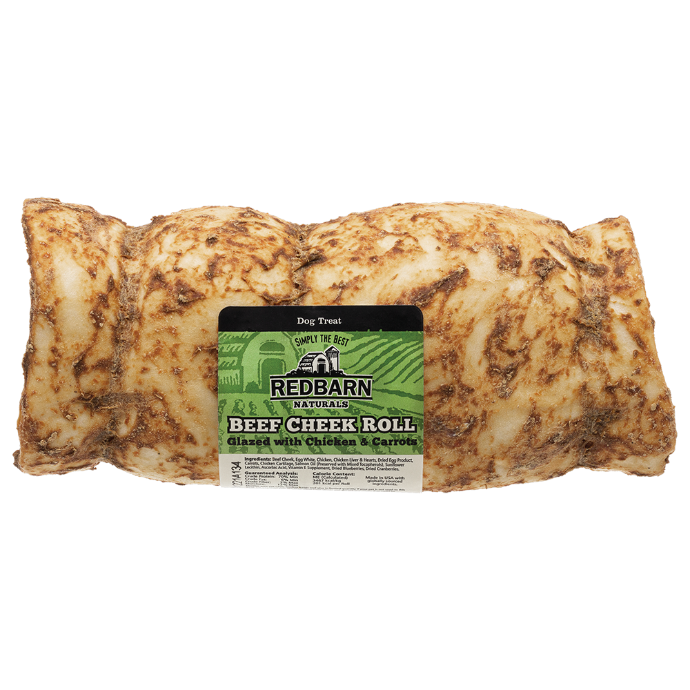 RedBarn Naturals Beef Cheek Roll - 2.05 oz