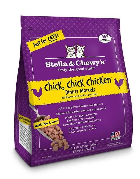 Stella & Chewy's Frozen Chick Chick Chicken Dinner Morsels for Cats - 3.5 oz.