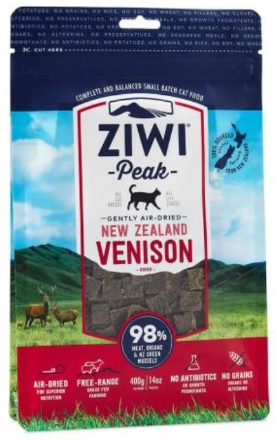 Ziwi Peak Gently Air-Dried New Zealand Venison Cat Food - 14 oz.
