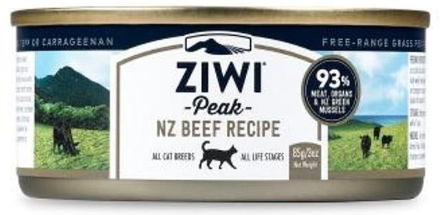 Ziwi Peak Moist Beef for Cats - 3.0 oz.