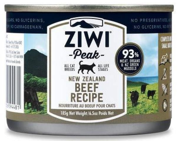 Ziwi Peak Moist Beef for Cats - 6.5 oz.