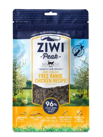 Ziwi Peak Gently Air-Dried New Zealand Free Range Chicken Cat Food - 1 lb.