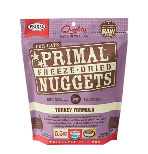 Primal Freeze Dried Turkey Formula for Cats
