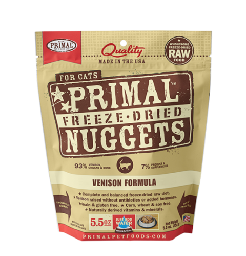 Primal Freeze Dried Venison Formula for Cats
