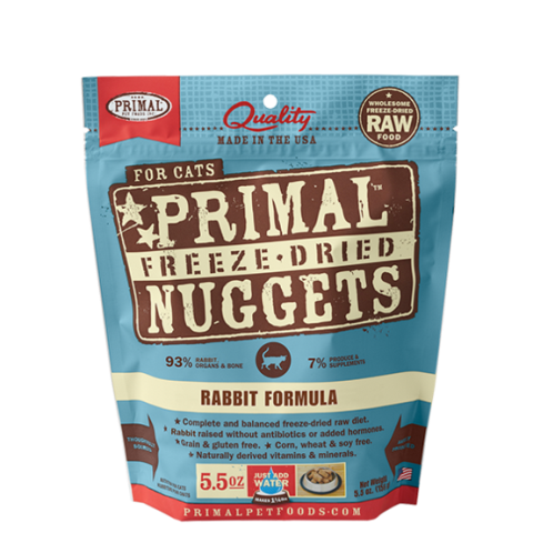 Primal Freeze Dried Rabbit Formula for Cats