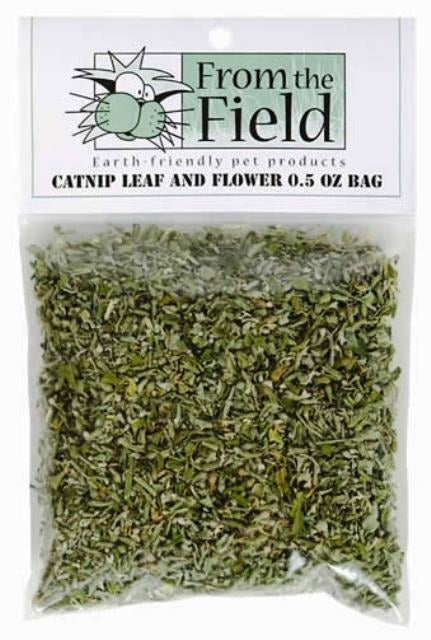 From the Field Catnip Leaf and Flower - 0.5 oz.