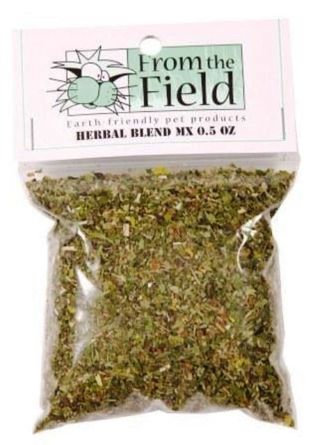 From the Field Herbal Blend MX with Valerian Root Catnip - 0.5 oz.