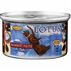 LOTUS Grain Free Rabbit Pate for Cats - 2.75 oz.