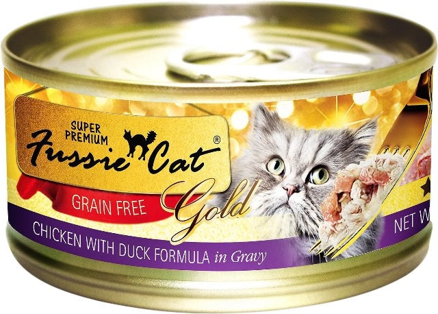 Fussie Cat Super Premium Grain Free Chicken with Duck - 2.82 oz.