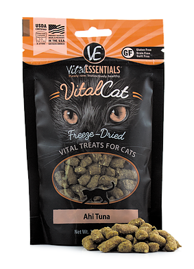 Vital Essentials Freeze Dried Ahi Tuna Cat Treat - 1.1 oz.