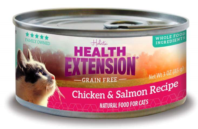 Health Extension Chicken & Salmon Grain Free Cat Food - 2.8 oz.