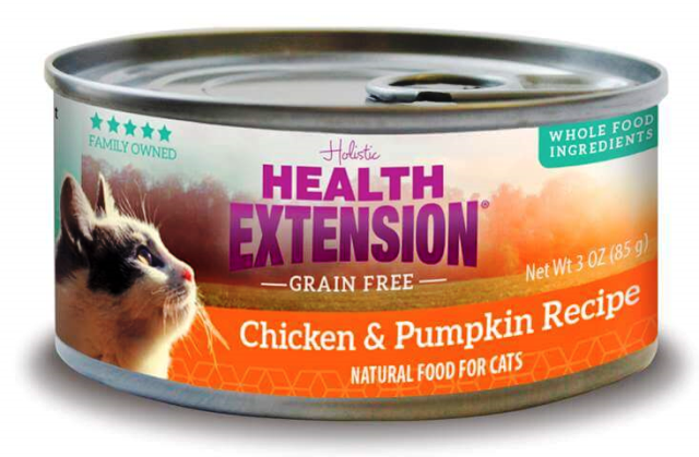 Health Extension Chicken & Pumpkin Grain Free Cat Food - 2.8 oz.