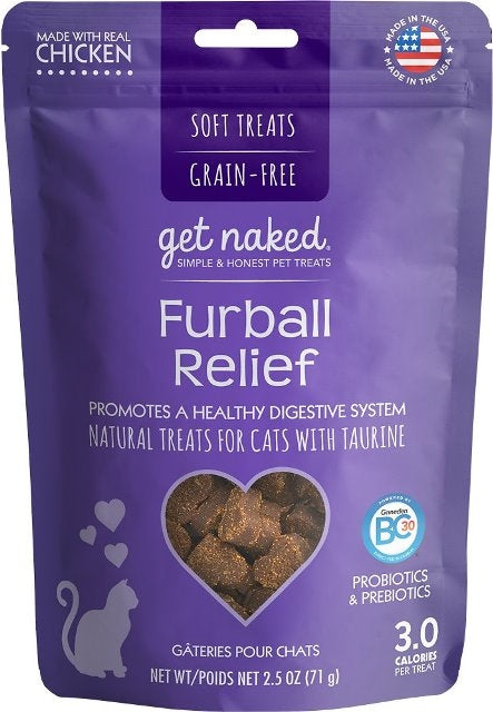 Get Naked Furball Relief for Cats - 2.5 oz.