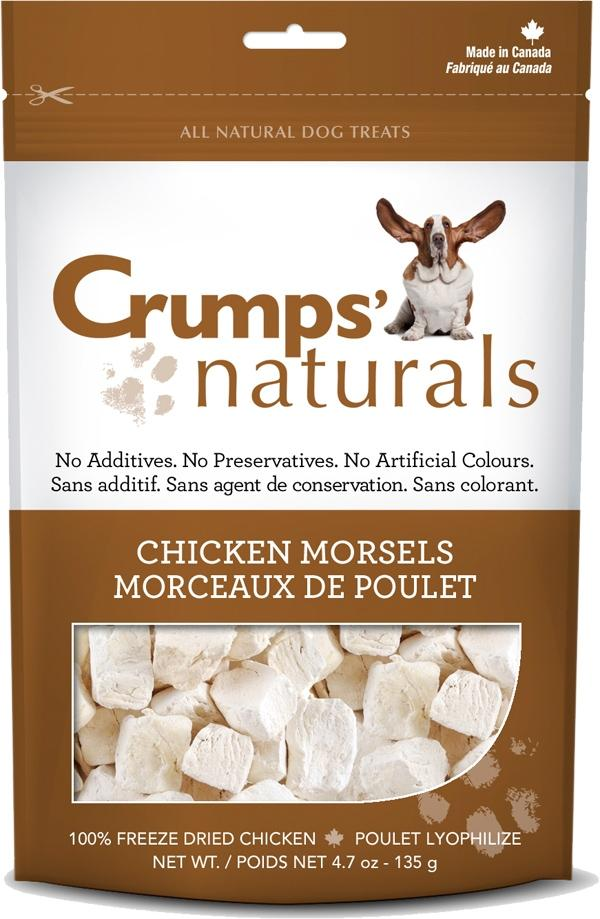 Crumps Naturals Chicken Morsels Dog Treats