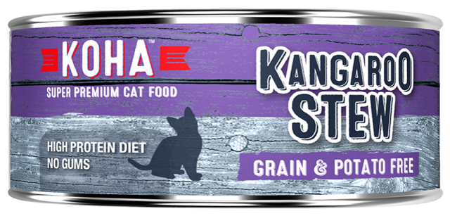 KOHA Kangaroo Stew Super Premium Cat Food - 5.5 oz.