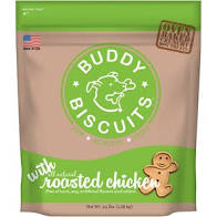 Buddy Biscuits Original Oven Baked Roasted Chicken Treats for Dogs - 3.5 lb.