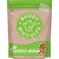 Buddy Biscuits Original Soft & Chewy Roasted Chicken Treats for Dogs - 20 oz.