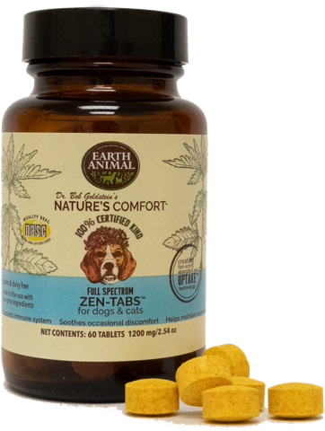 Earth Animal ZEN-TABS for Dogs & Cats - 60 Tablets