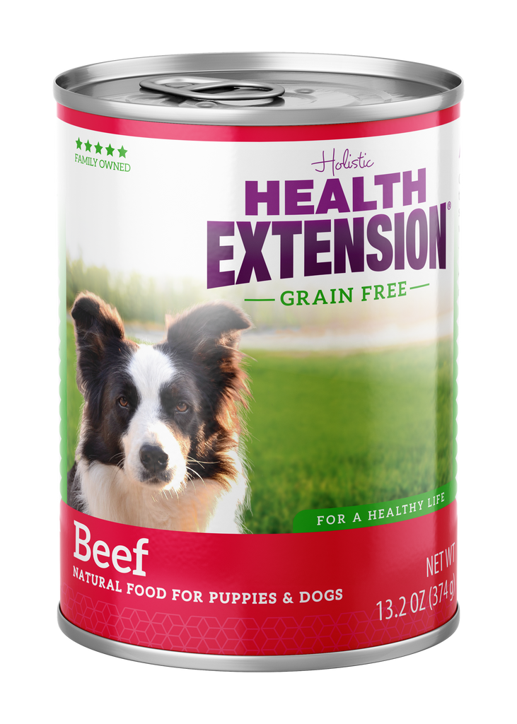 Health Extension Holistic Beef Canned Dog Food - 13.2 oz.