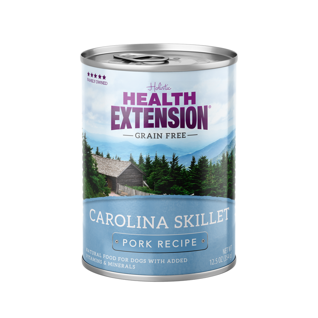 Health Extension Grain Free Carolina Skillet Pork Recipe Dog Food - 12.5 oz.