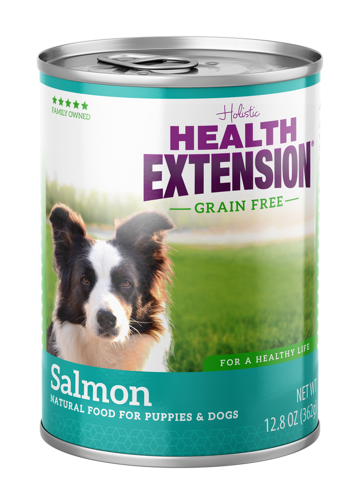 Health Extension Holistic Salmon Entree Canned Dog Food - 13.2 oz.