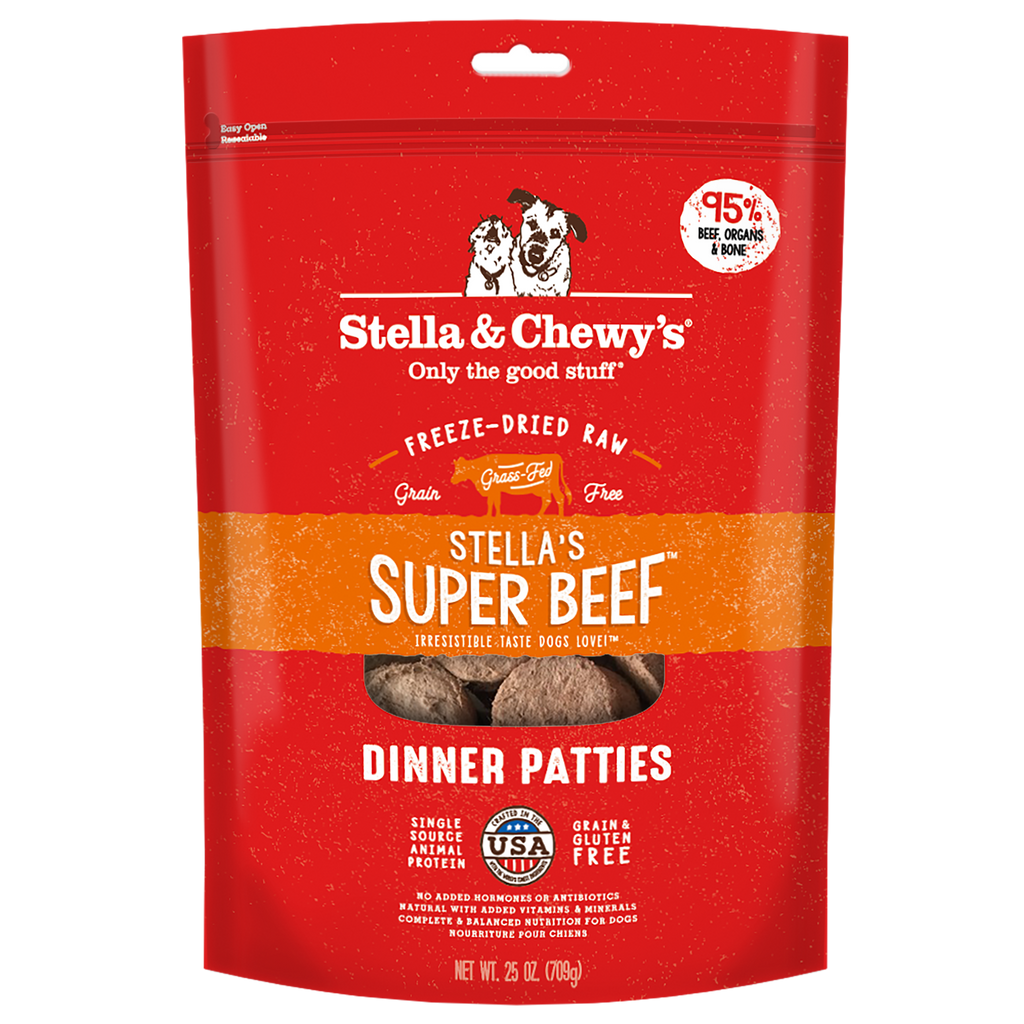 Stella & Chewy's Freeze Dried Super Beef Dinner Dog Food