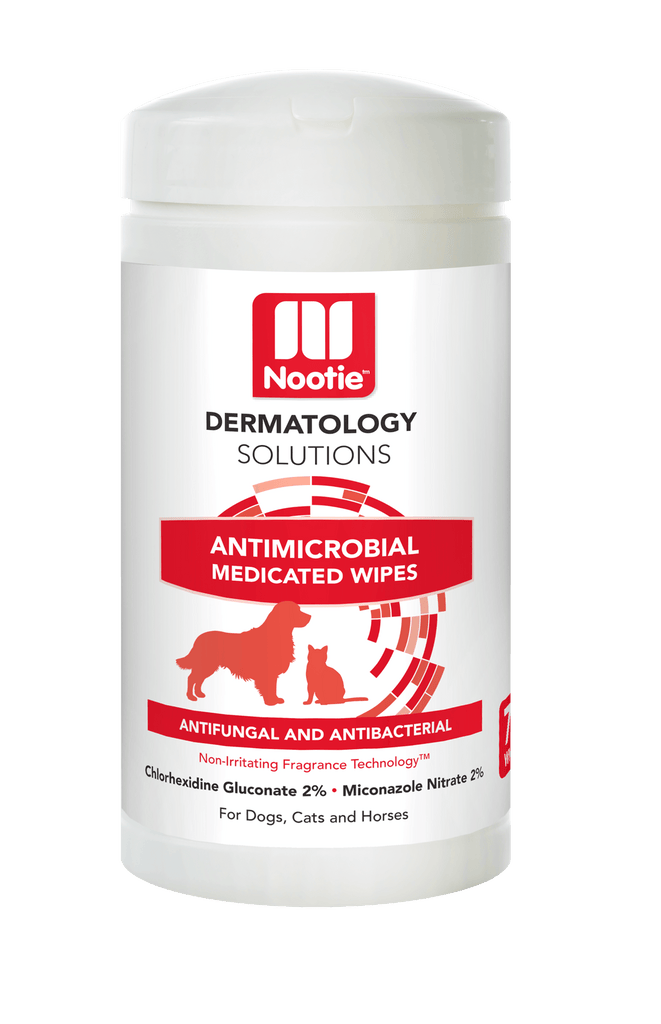 Nootie  Dermatology Solutions Antimicrobial Medicated Wipes - 70 wipes