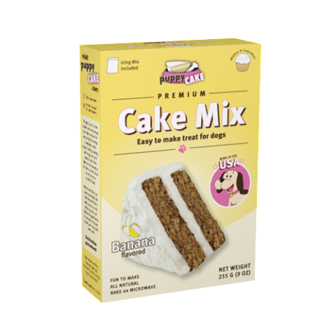 Puppy Cake Mix - Banana Flavored (wheat-free)