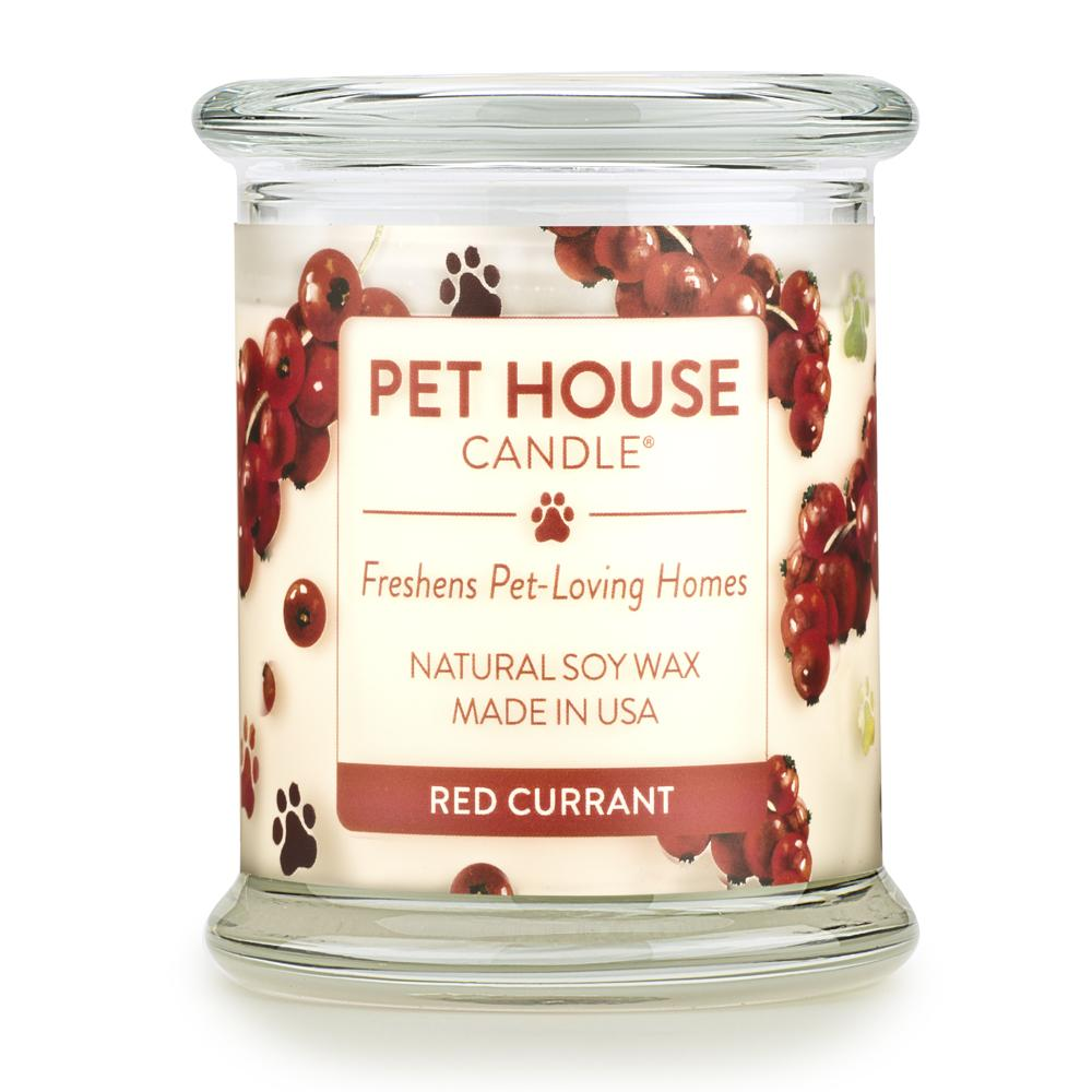 ONE FUR ALL PET HOUSE CANDLE - RED CURRANT
