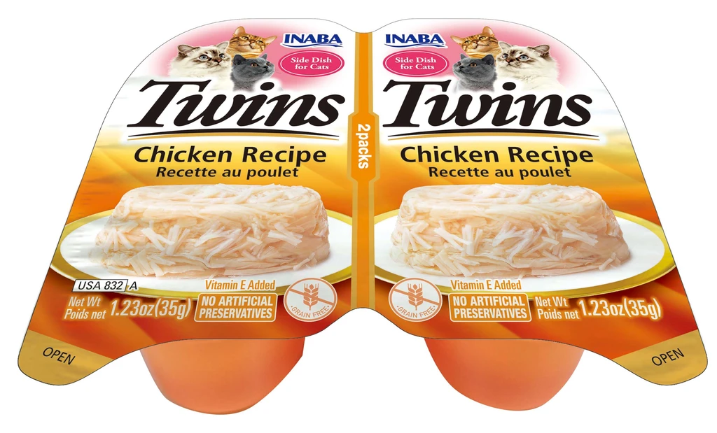 INABA Twins for Cats - Chicken Recipe