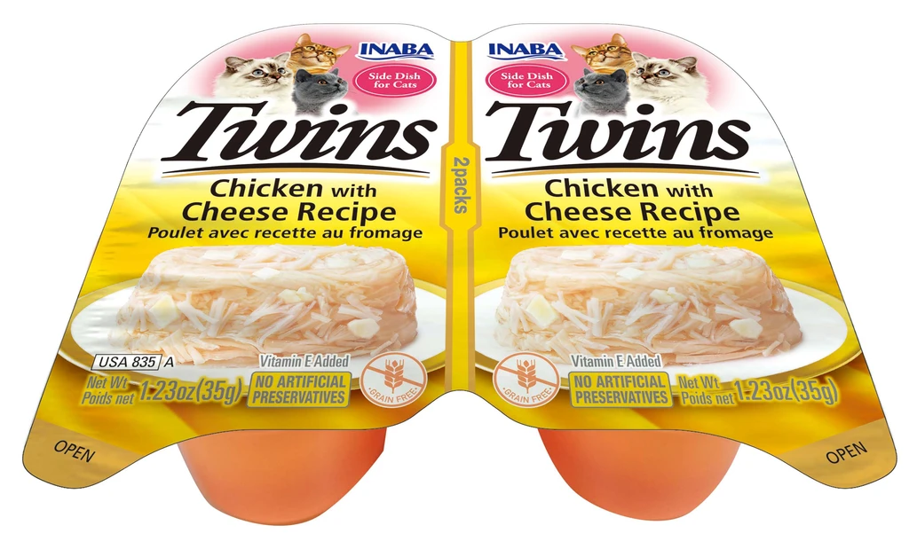 INABA Twins for Cats - Chicken with Cheese Recipe