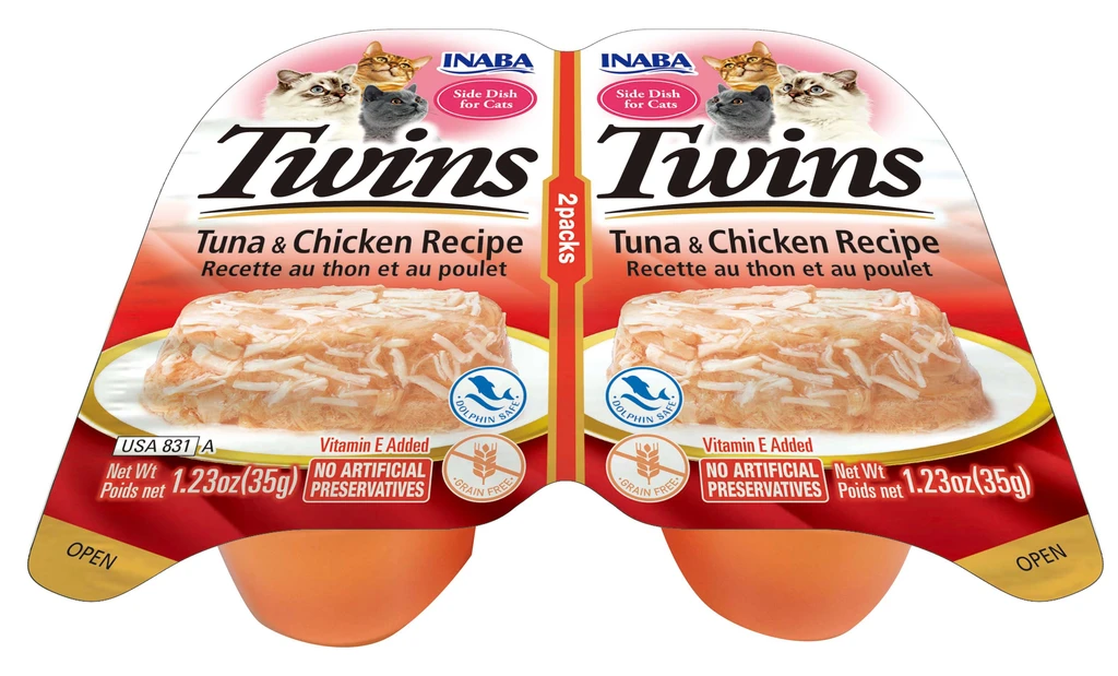 INABA Twins for Cats - Tuna & Chicken Recipe