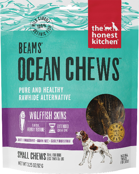 Beams Ocean Chews - Wolffish Skins