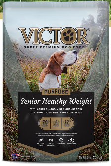 Victor Purpose Senior Healthy Weight Dog Food