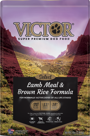 Victor Select Lamb Meal & Brown Rice Formula Dog Food