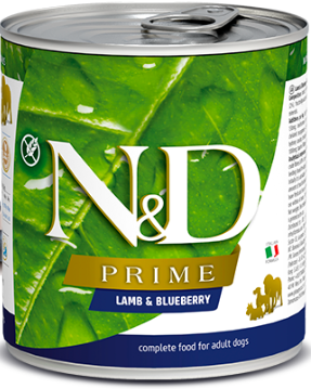 Farmina N&D Prime Lamb & Blueberry Wet Dog Food - 10 oz