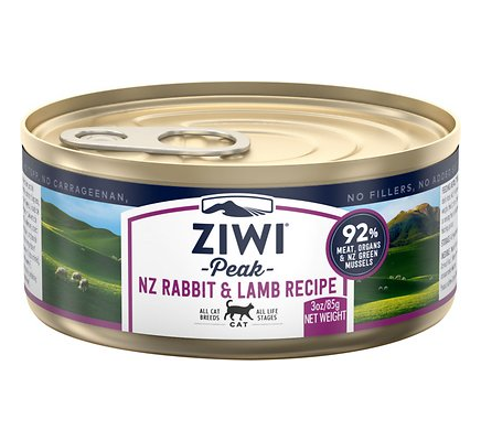 Ziwi Peak NV Rabbit & Lamb Wet Cat Food - 3.0 oz.