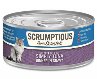 Scrumptious from Scratch Simply Tuna Dinner in Gravy Cat Food - 2.8-oz