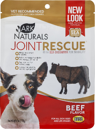 Ark Naturals Sea Mobility Joint Rescue Beef Functional Dog Treat - 9 oz.