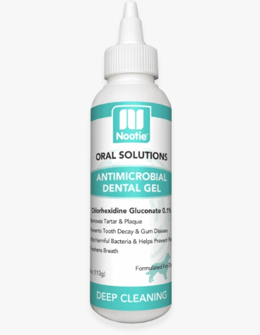 Nootie Antimicrobial Dental Gel for Dogs - 4-oz