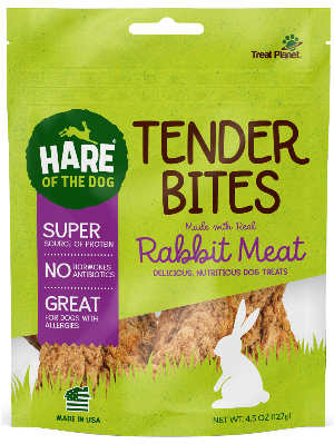 Hare of the Dog Rabbit Tender Bites - 4.5-oz