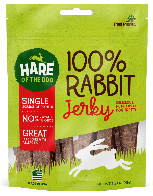 Hare of the Dog Rabbit Jerky - 3.5-oz