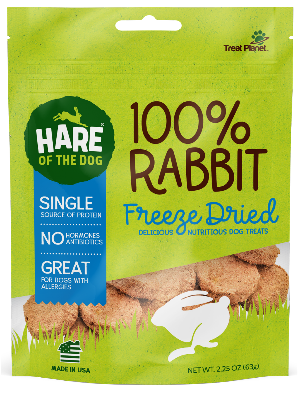 Hare of the Dog Freeze-Dried Rabbit - 2.25-oz