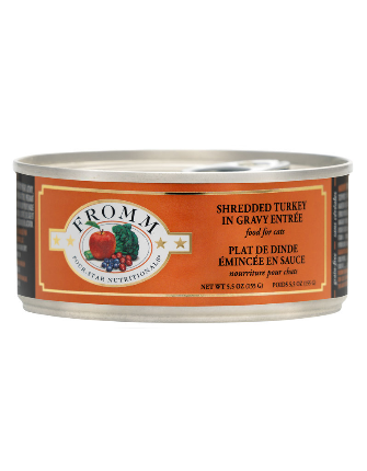 Fromm Shredded Turkey in Gravey Entree for Cats - 5.5-oz